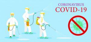 Desinfección de virus, bacterias y otros microorganismos patógenos (Incluido Coronavirus)